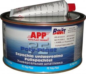 Купить 010107 Шпатлевка универсальная APP PE-POLY-PLAST, 0,6 кг - Vait.ua