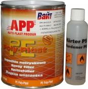 010501 Шпатлевка жидкая распыляемая APP PE-POLY-PLAST, 1 кг