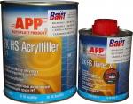 020407 2К Акриловый грунт APP HS Acryfiller 5:1 (1л) + отвердитель APP HS Harter ХFHN (0,2л), белый