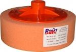 02402 Круг полировальный PYRAMID с резьбой М14 универсальный, оранжевый, D150mm