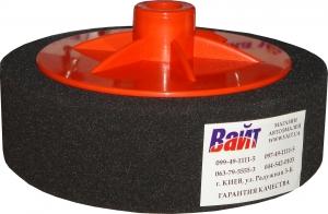 Купить 02403 Круг полировальный PYRAMID с резьбой М14 мягкий, черный, D150mm - Vait.ua