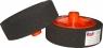 02403 Круг полировальный PYRAMID с резьбой М14 мягкий, черный, D150mm