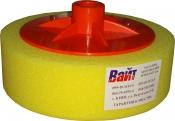 02404 Круг полировальный PYRAMID с резьбой М14 универсальный, желтый, D150mm