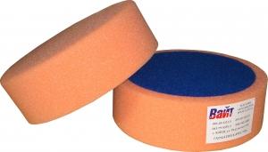 """Купить 03402 Круг полировальный PYRAMID крепление """"липучка"""", высота 50мм, диаметр 150мм, оранжевый - Vait.ua"""