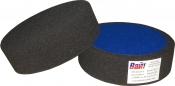 """03403 Круг полировальный PYRAMID крепление """"липучка"""", высота 50мм, диаметр 150мм, черный"""
