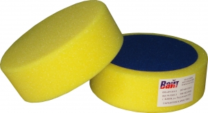 """Купить 03404 Круг полировальный PYRAMID крепление """"липучка"""", высота 50мм, диаметр 150мм, желтый - Vait.ua"""