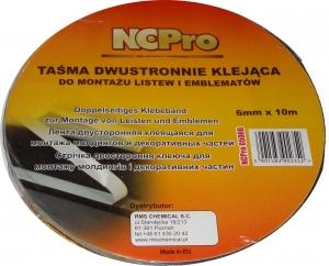 Купить Лента двусторонняя акриловая NCPro белая, 9мм х 10м - Vait.ua