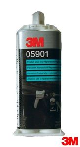 Купить 05901 Двухкомпонентный эпоксидный клей 3M Flexible Parts Repair Material (FPRM), 50мл двойной картридж - Vait.ua