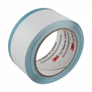 Купить 06349 Маскирующая лента для вклейки стекол (отворотный скотч) 3M™ Trim Masking Tape, 50мм х 10м, козырек 10 мм - Vait.ua
