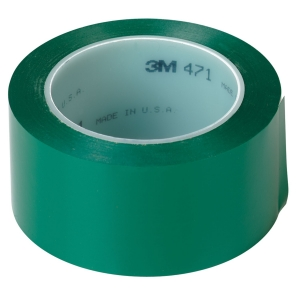 Купить 06423 Виниловая лента 3M 471 50мм х 33м, зеленая - Vait.ua