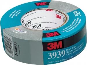 Купить 85561 Односторонняя армированная ремонтная лента 3939 3M Duct Tape, 24мм х 55м х 0,13мм - Vait.ua