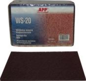 06Z110 Волокно абразивное универсальное APP (скотч-брайт), красное