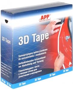 Купить 070351 Поролоновый самоклеющийся валик для проемов АРР-3D Tape, D13мм, 5м - Vait.ua