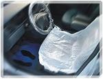070807 Защитные чехлы-накидки на сидения APP HDPE, 79см x 130см (рулон = 100 штук)