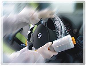 Купить 070811 Держатель рулона для защитных чехлов-накидок на руль APP - Vait.ua