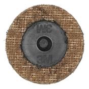 Диск Scotch-Brite (скотч-брайт) с креплением Roloc SC-DR, d50мм, A CRS (коричневый)
