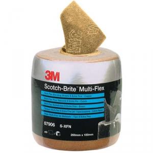 Купить 07906 Абразивный рулон 3M Scotch-Brite MX-SR A XFN (медный) с перфорацией, 102мм х 203мм х 60шт - Vait.ua