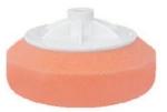 Круг полировальный APP с резьбой M14, универсальный (розовый)