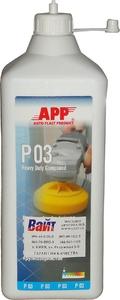 Купить 081301 Крупнозернистая полировальная паста APP Р03 Heavy Duty Compound, 600мл - Vait.ua