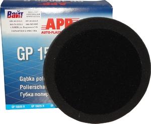 Купить 080305 Полировальная губка мягкая APP f150 на липучке, 150мм х 2,5см, черная - Vait.ua