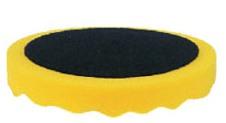 Купить 080405 Полировальная губка профилированная универсальная APP f150 на липучке, 150мм х 2,5см, желтая - Vait.ua