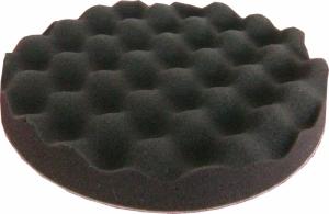 Купить 080504 Полировальная губка профилированная мягкая APP f210 на липучке, 210мм х 3см, черная - Vait.ua