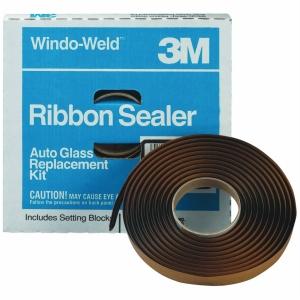 Купить 08612 Специализированный ленточный герметик 3M™ Windo-Weld™ Round Ribbon Sealer для лобовых стекол без уплотнителей, 10мм х 4,5м - Vait.ua