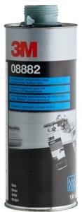 Купить 08882 Антигравийное текстурное покрытие 3M на водной основе окрашиваемое 1л, серое - Vait.ua