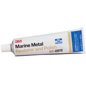 09018 Полировальная паста 3M Marine Metal Restorer and Polish Clip для металлических поверхностей, 150мл