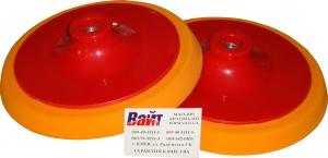 Купить 09402 Жесткая базовая платформа PYRAMID с резьбой М14 для полировальных кругов, оранжевая, d150мм - Vait.ua