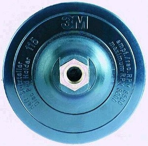 Купить 09562 Оправка 3M Hookit для кругов Scotch-Brite SC-DH, диаметр 115мм, резьба М14 - Vait.ua