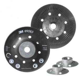 Купить 09583 Сменная оправка для фибровых кругов 3M (плоская), 115мм х 22 мм - Vait.ua