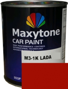 """Купить 1015 Акриловая автоэмаль Maxytone 2К Acryl Autolack """"Красная"""" в комплекте с отвердителем - Vait.ua"""