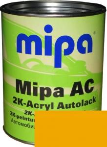 """Купить 1035 Акриловая 2К автоэмаль Mipa """"Желтый"""" в комплекте с отвердителем - Vait.ua"""