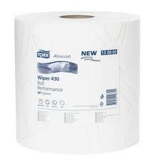 Купить 130060 Протирочная бумага Tork Advanced 430 в больших рулонах, 340 м, 1000 листов - Vait.ua