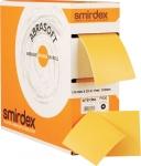 """Абразивная бумага SMIRDEX """"АБРАСОФТ"""" (серия 135sp) на поролоновой основе 115 х 125 х 25м (отрывные листы), P800"""