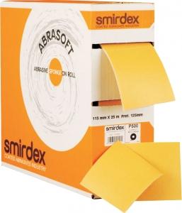 """Купить Абразивная бумага SMIRDEX """"АБРАСОФТ"""" (серия 135sp) на поролоновой основе 115 х 125 х 25м (отрывные листы), P320 - Vait.ua"""