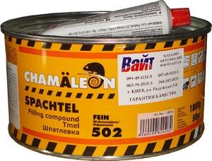 Купить Отделочная полиэстровая шпатлевка 502 Chamaleon, 1,85кг - Vait.ua