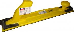 Купить 150310 Ручной гибкий шлифовальный рубанок H1 APP 400мм х 70мм, желтый - Vait.ua