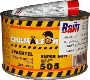 Купить Универсальная мягкая полиэфирная шпатлевка 505 Chamaleon Super Soft, 1кг - Vait.ua