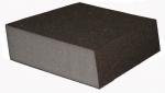 Абразивный блок KAEF скошенный с двух сторон, серия 300, K100 (P220)