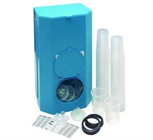Купить 16750 Система 3M PPS Mini 0,17л стартовый набор для смешивания и приготовления краски, фильтр 125 микрон (16114 + 2шт. х 16115 + 16098 + 2шт. х 16066) - Vait.ua