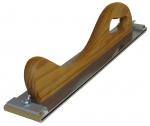 """Рубанок деревянный """"Вайт"""" (серия """"VTP""""), вид А, крепление винтовой зажим, 400мм x 70мм"""