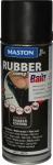 """Синтетическое резиновое покрытие Maston RUBBERcomp """"Черный матовый"""" в аэрозоле, 400мл"""