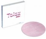 Полировальный абразивный диск KOVAX TOLEX (розовый), D152mm, без отверстий, P2000