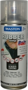 """Синтетическое резиновое покрытие Maston RUBBERcomp """"Белый полуглянцевый"""" в аэрозоле, 400мл"""