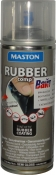 """Синтетическое резиновое покрытие Maston RUBBERcomp """"Дымчатый полуглянцевый"""" в аэрозоле, 400мл"""