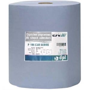 Купить Полотенце бумажное обтирочное 3-х слойное 195-FCZ, 180м, голубое - Vait.ua