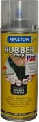 """Синтетическое резиновое покрытие Maston RUBBERcomp """"Желтый полуглянцевый"""" в аэрозоле, 400мл"""