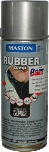 """Купить Синтетическое резиновое покрытие Maston RUBBERcomp """"Серебристый глянцевый"""" в аэрозоле, 400мл - Vait.ua"""